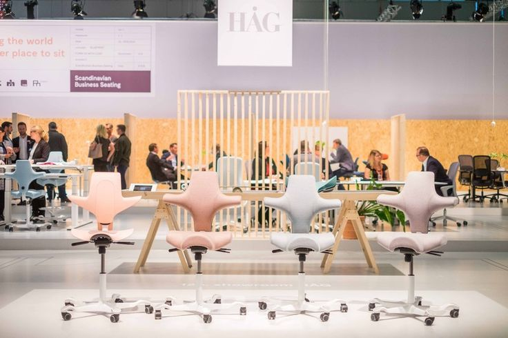 The HÅG Capisco is a design icon that continues to withstand the test of time #InspireGreatWork #furniture #event #design #Scandinavian