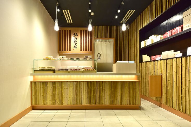 Teriyaki Japanes Store Design Japanese Confectionery Shop