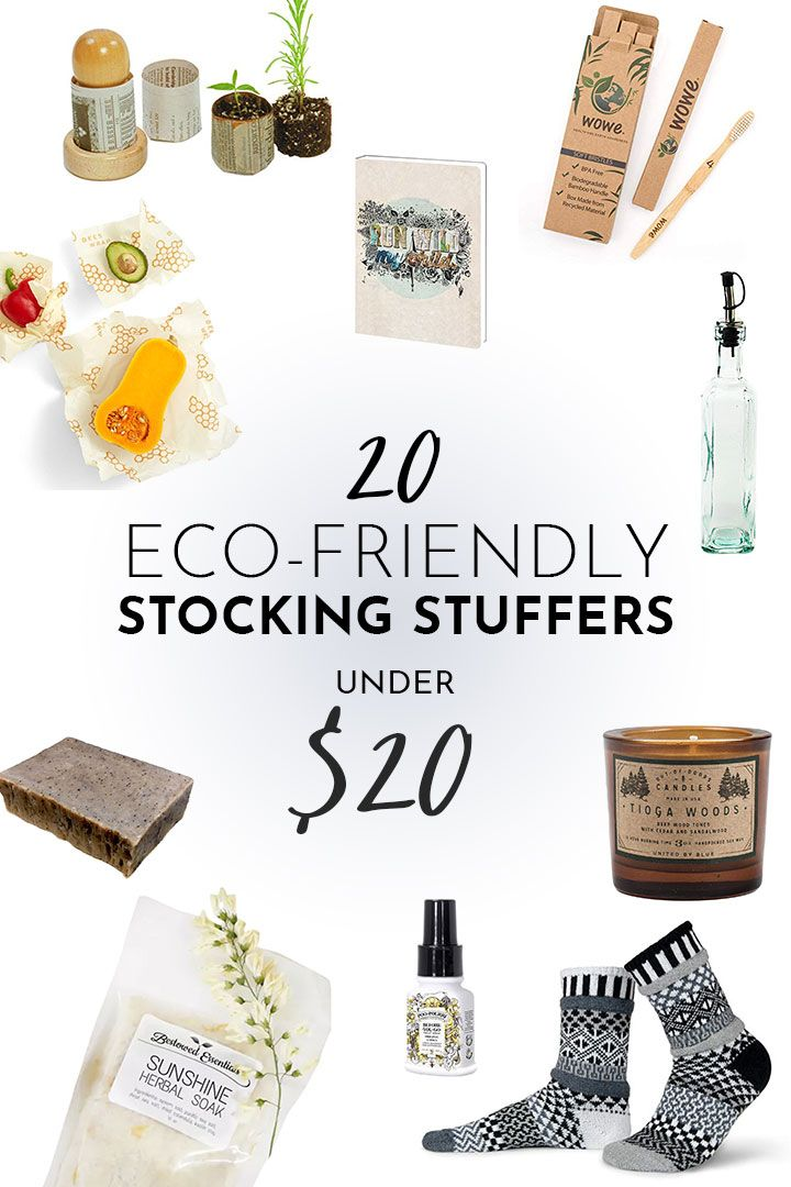 20 Eco Friendly Stocking Stuffers Under 20 Eco Friendly Christmas Eco Friendly Holiday Sustainable Gifts