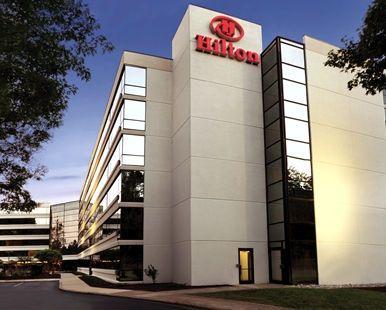 Hilton Durham near Duke University Hotel, NC - Exterior - Dusk   | NC 27705