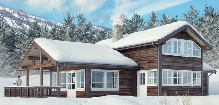 Norske Hus | Åsen