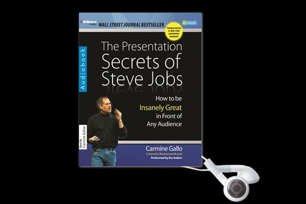 Whether he was introducing the latest iPad or delivering a keynote presentation, Steve Jobs electrified audiences with his incomparable style and showmanship. Know more- http://www.reado.com/CARMINE-GALLO-The-Presentation-Secrets-Of-Steve-Jobs-audiobook~14f34243de23bda