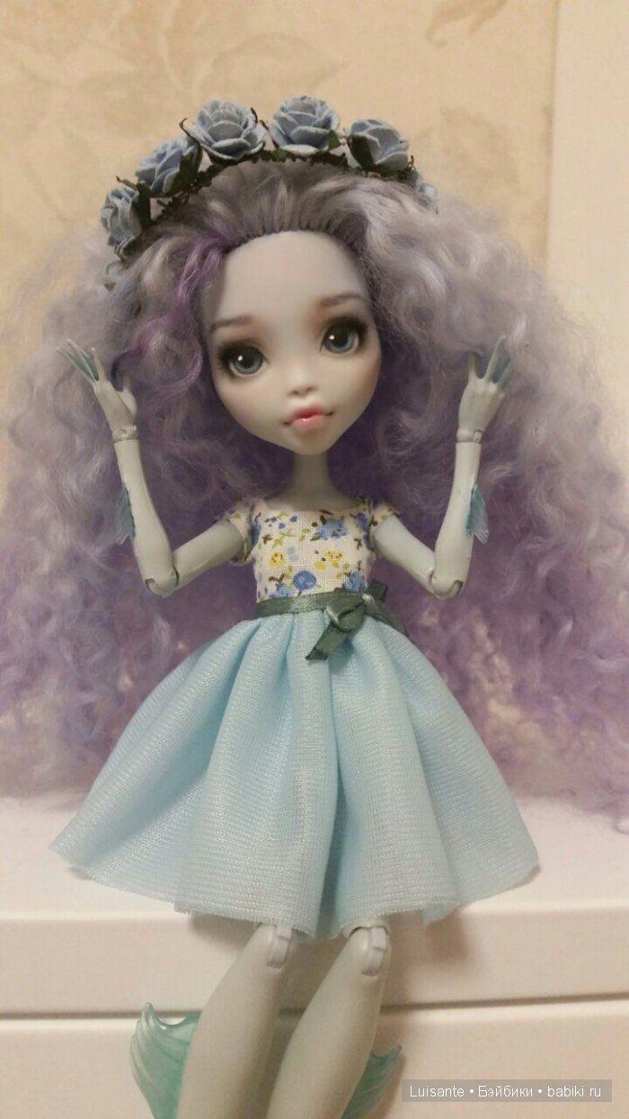 ООАК Лагуны от Мадам Бу или прекрасная Мальвина / Куклы My Scene, Monster High, Монстер Хай от Mattel / Бэйбики. Куклы фото. Одежда для кукол