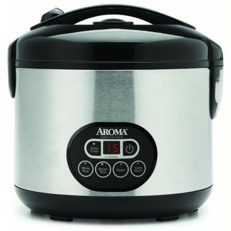 Aroma Professional Rice Cooker & Food Steamer, Multicolor