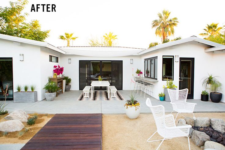 Patio Makeover Transformation by Sarah Yates