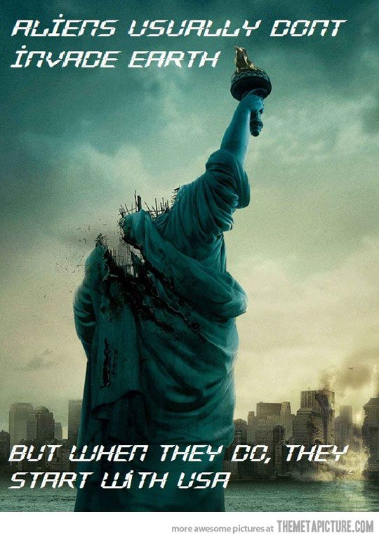 aliens: Film, Movies, Movie Poster, So True, Funny Stuff, New York, Aliens