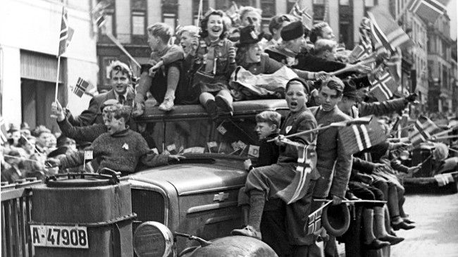Oslo, May 8th 1945. News is spreading that the German  forces in Norway have capitulated to the Allies.