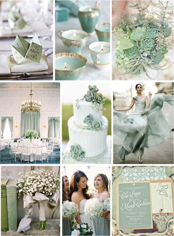 86 Best Mint Amp Gold Wedding Images On Pinterest Wedding
