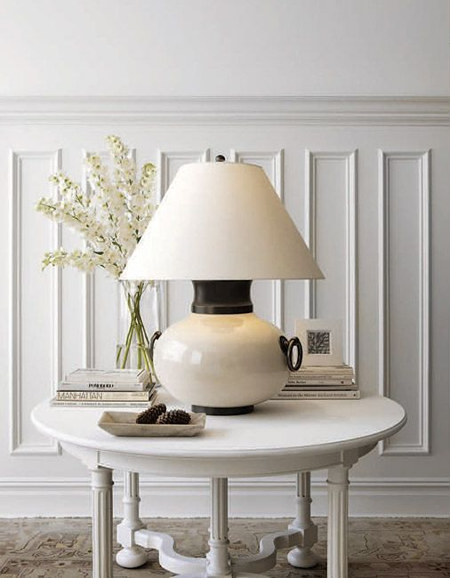 Light table city lights visual comfort detroit michigan showroom table lamps coastal ivory lightbox