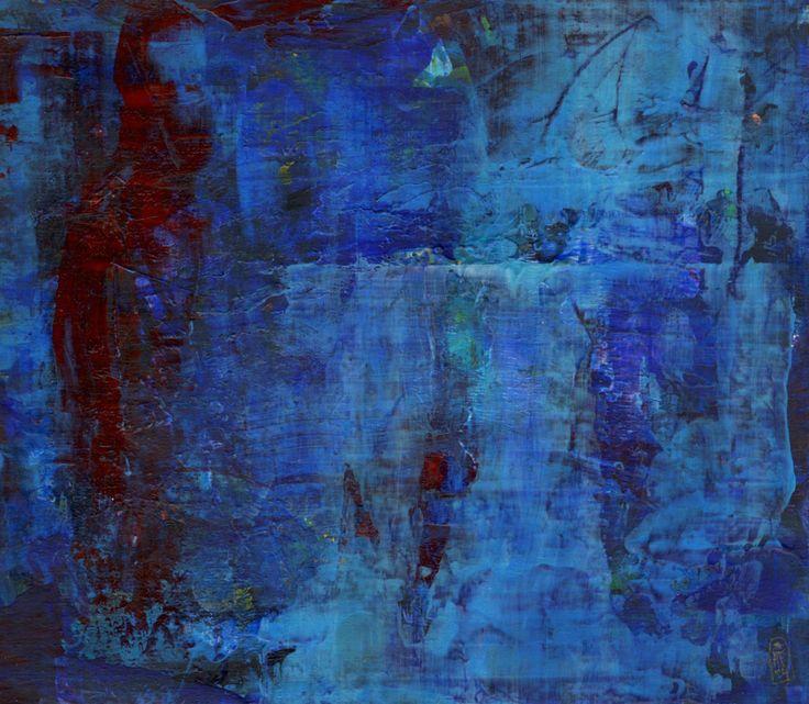 """""""An den Ufern der Zeit"""" painting by Yvonne Hoch"""