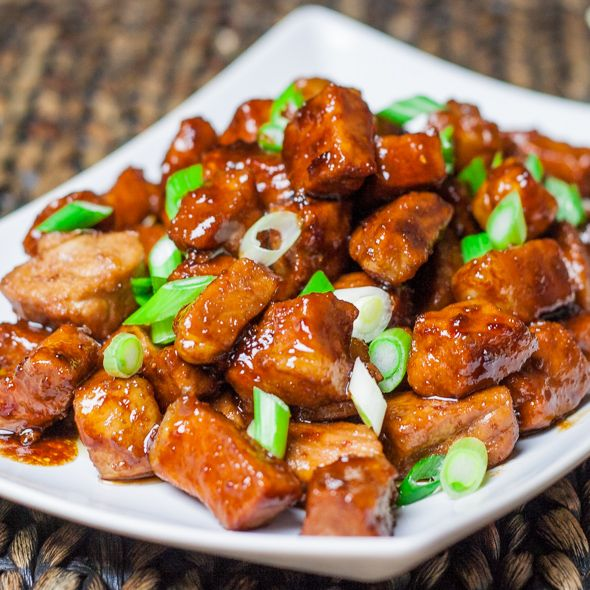 Braised Pork in sweet soy sauce - This recipe is very simple and you could really use any pork meat you wish including ribs.