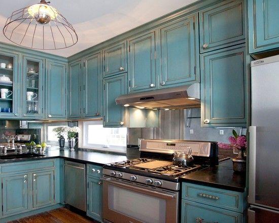 Teal Kitchens 250 best magnificent kitchen decoration images on pinterest