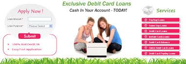 Loans for debit cards are the appropriate fiscal method to accomplish your emergency needs. There are no extra hidden fees in this appearance of loans.
