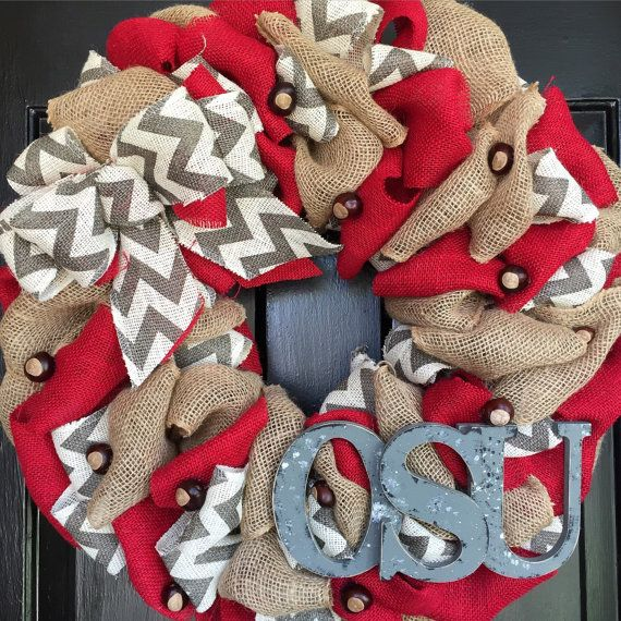 Hey, I found this really awesome Etsy listing at https://www.etsy.com/listing/245101424/osu-ohio-state-wreath-with-buckeyes