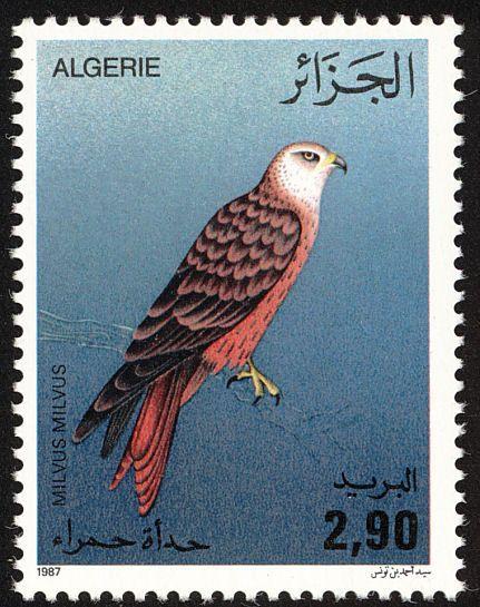 Birds on stamps: Algeria Algerije Algérie
