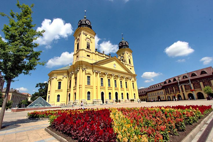 Calvinist Great Church in Debrecen, Hungary, where Lajos Kossuth declared Hungarian Independence in 1848