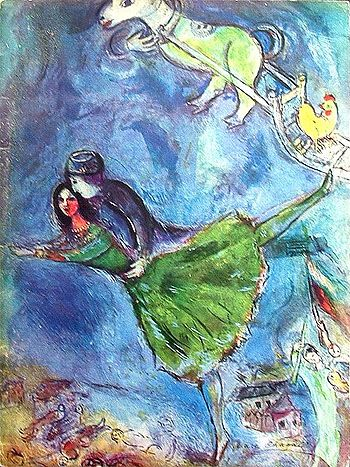 The 25 best images about Marc Chagal on Pinterest | Museums, Oil ...