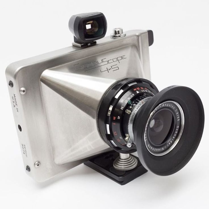 KameraCraft™ — Words can't describe how cool the Globuscope 4x5...