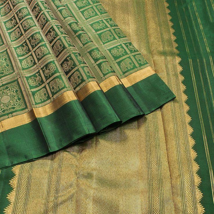 Hayagrivas Kanjivaram silk sari 17S102D22