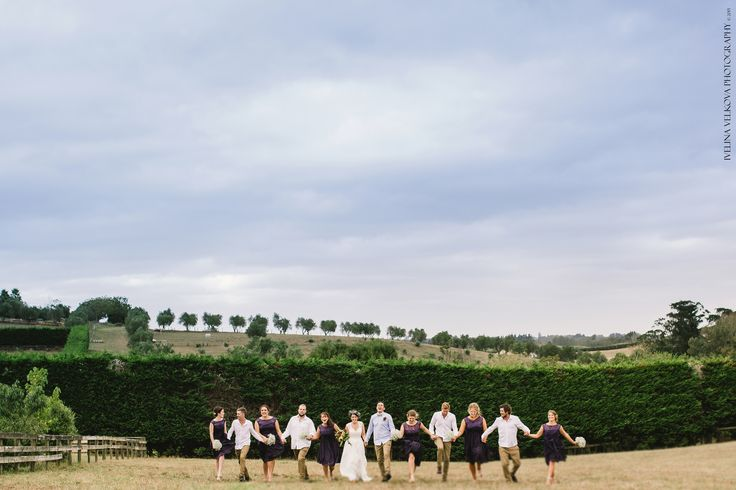 Rustic Wedding, Bridal Party. Auckland Wedding Photographer http://ivelinavelkova.com/