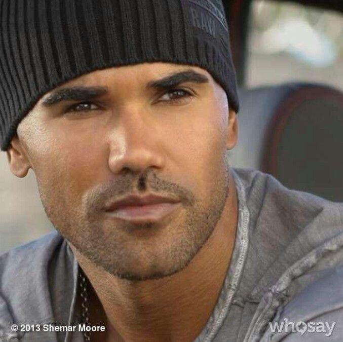 Shemar Moore...... the man is beautiful......all I can say