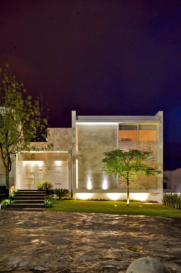 Original Architecture Details and Layout Characterizing Casa Natalia in Mexico