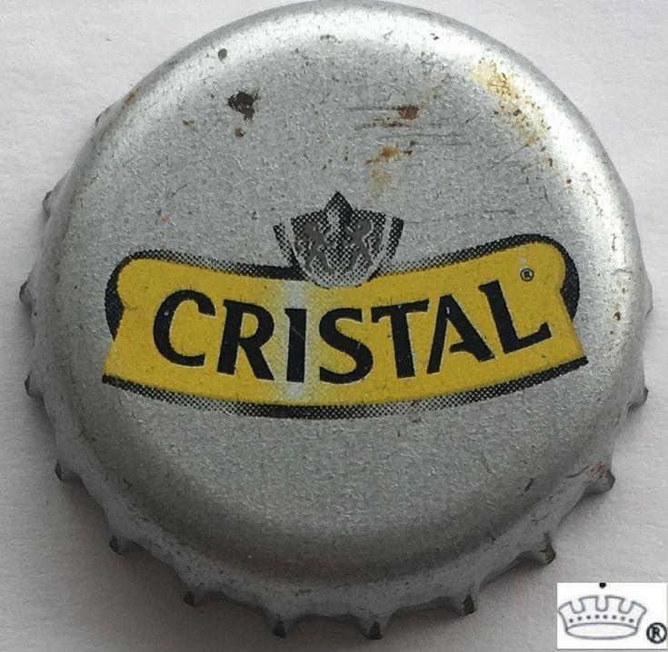 Tapa de botella: Cristal (Compañía de Cervecerías Unidas, Chile) Col:BE-CL-0098