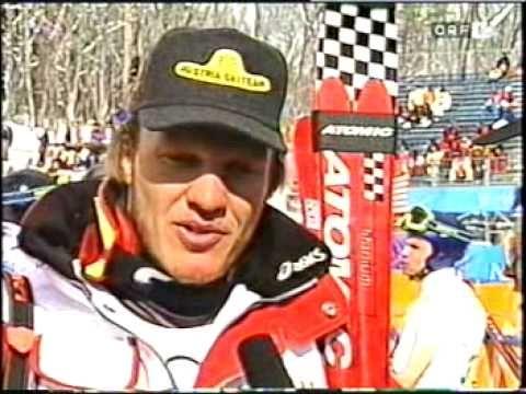 Olympische Winterspiele 1998- Hermann Meiers Supersturz