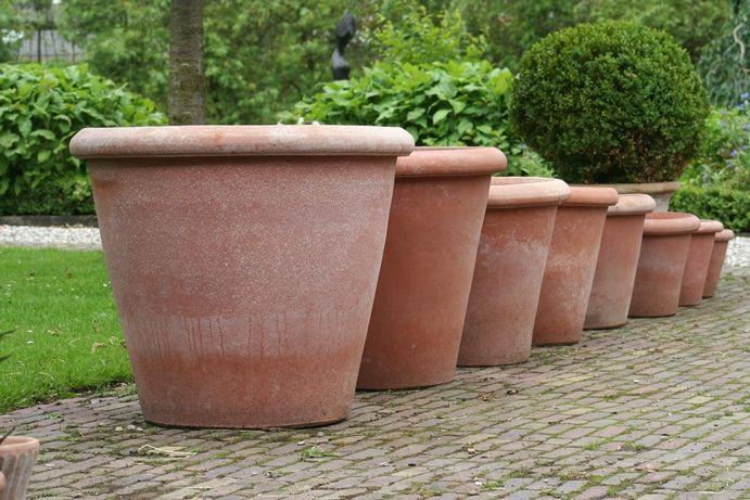 Terracotta pot Poggi Ugo, Vaso Camelia 80 | De TuinwinkelDe Tuinwinkel