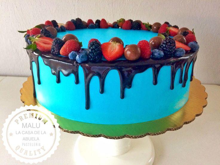 wild fruits Cake [pastel frutos rojos]