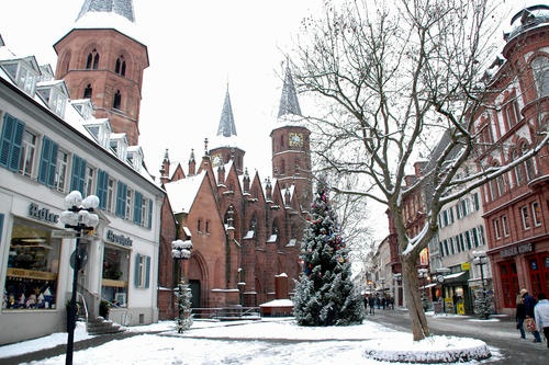 Kaiserslautern, Germany; forever stole my heart away.  Lived there for only about 2 and half years, but those were the best 2 years of my entire life.