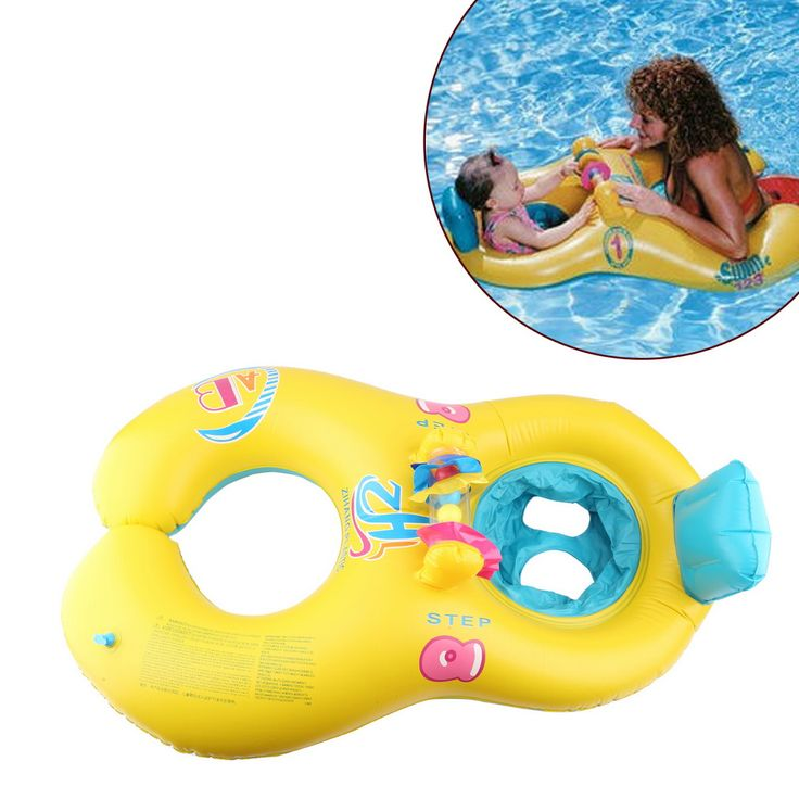 COZIME New Arrival Baby Swimming Float Neck Float Mother And Child Swimming Circle Double Float 100% Top Good