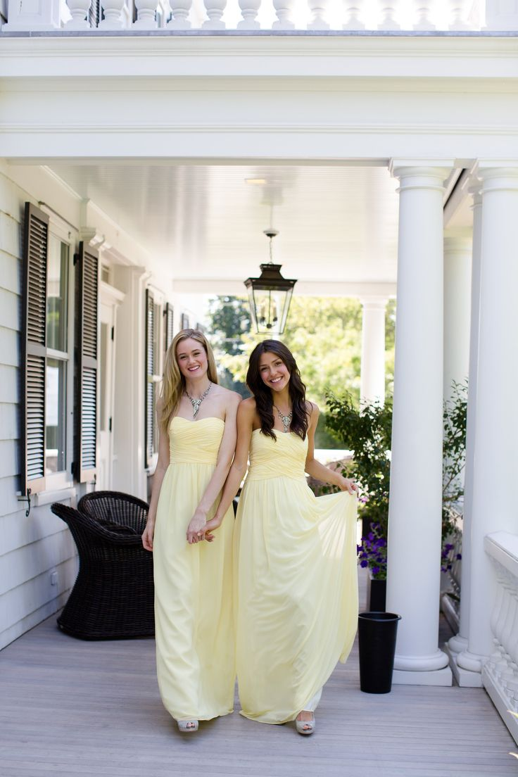 140 best bridesmaid and groomsmen images on pinterest weddings lovely lemon bridesmaids dresses by donna morgan ombrellifo Image collections