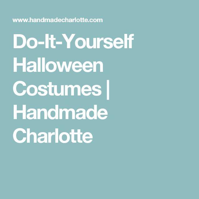 Do-It-Yourself Halloween Costumes | Handmade Charlotte