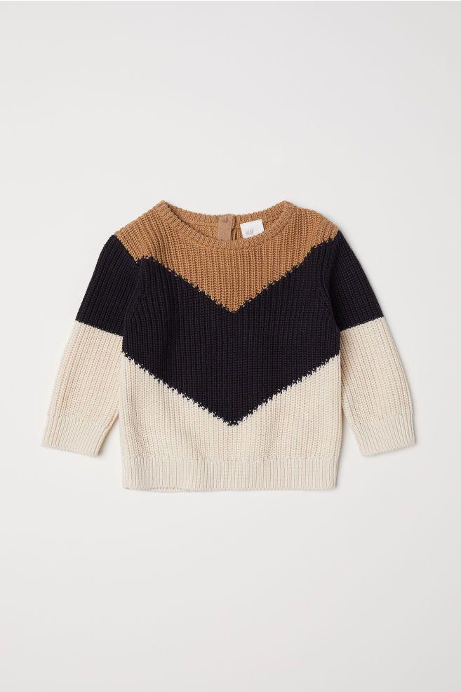 Ribgebreide trui   Girls clothes shops, Baby girl sweaters