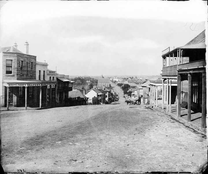 Darling St in Balmain in 1870.