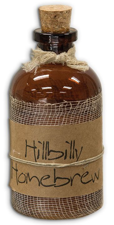 Hillbilly Homebrew with the sweet & spicy scent of hot mulled cider. KP Creek Gifts