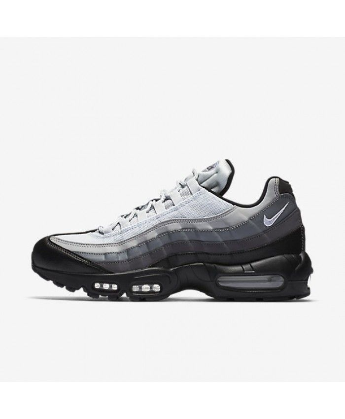 1e1afbb1c8496 Nike Air Max 95 Essential Black Dark Grey Cool Grey White 749766-022 ...