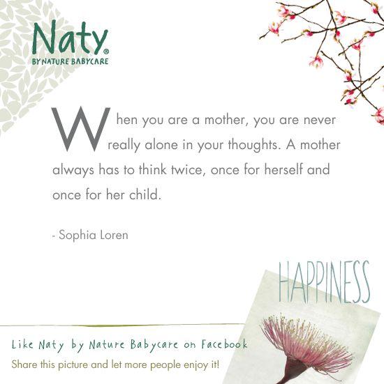 Sophia Loren quote as mother