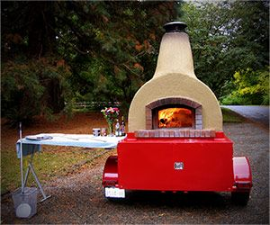 Wood-oven catering | Rolling Fire