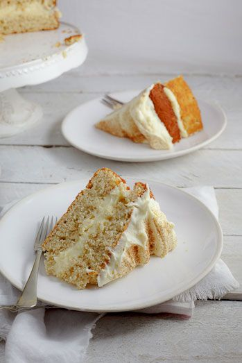 Will have to know the metric system.  Looks oh so totally scrumptious!  Milk Tart Layer Cake