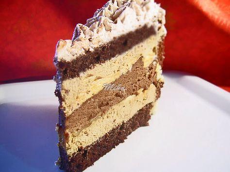 """Mod de preparare Tort """"Senzatii tari"""": Blat: Albusurile se bat spuma tare cu un praf de sare. Se adauga zaharul si se mixeaza pana devin lucioase, ca pentru bezea. Galbenusurile se mixeaza cu uleiul si esenta de rom si se adauga peste albusuri. Urmeaza apoi faina amestecata cu praful de copt …"""