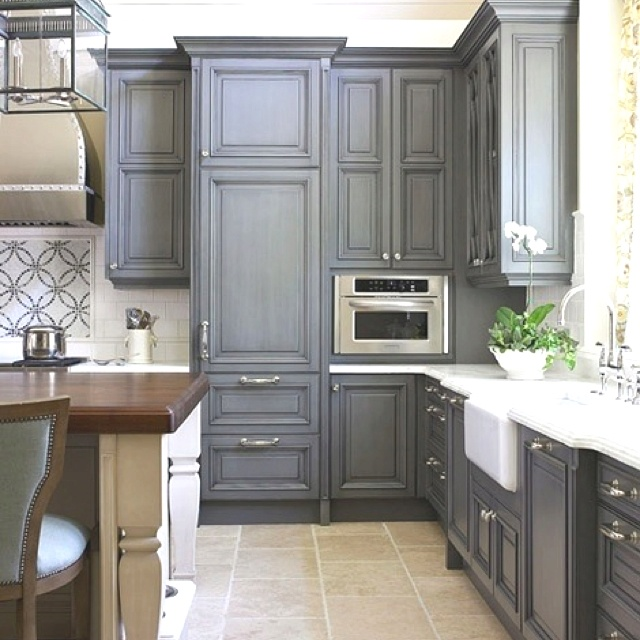 100 Ideas To Try About Kitchen Cabinets: 100 Best PAINTED KITCHEN CABINETS Images On Pinterest