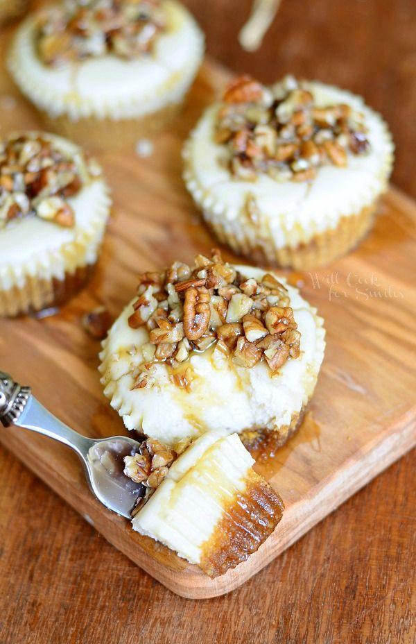 ... Lemon cheesecake, Graham cracker pie crust and Vanilla bean cheesecake