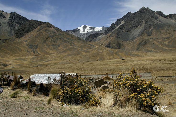 Last Glacier in La Raya Mountain Range, Peru