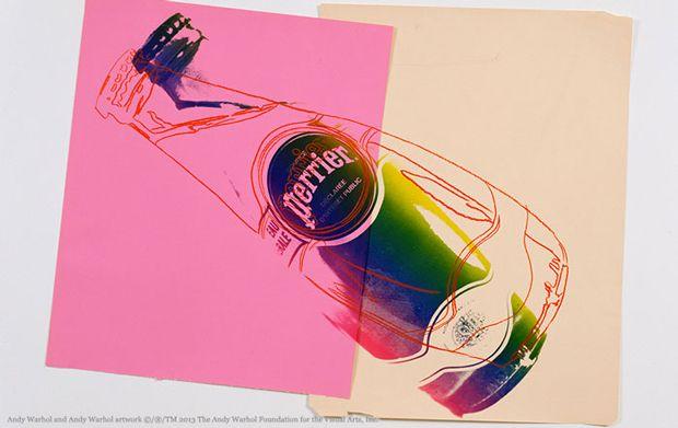 02 Perrier 150 aniversario La botella de Perrier luce su lado más pop en su 150 aniversario
