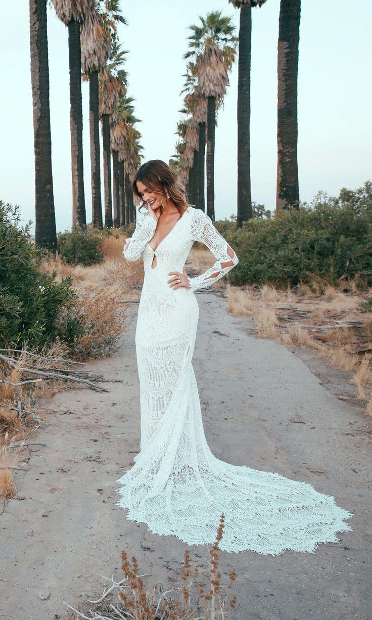 Abbott | Hippie Wedding Dress | Jane Birkin Wedding Dress | BOHO Wed