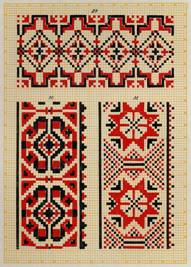 Embroidery from Northern Left-Bank Ukraine, Sumy, Chernyhiw and Starodub regions