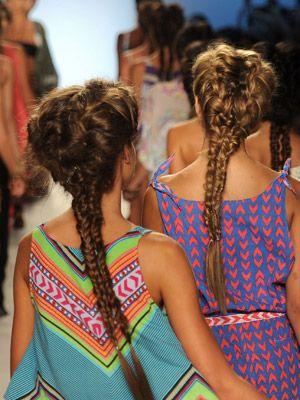 braidsFrench Braids, Braids Hairstyles, Double Fishtail, Mermaid Braid, Fantasy Braids, Bohemian Long Hair, Double Braids, Beach Hair, Gorgeous Beach