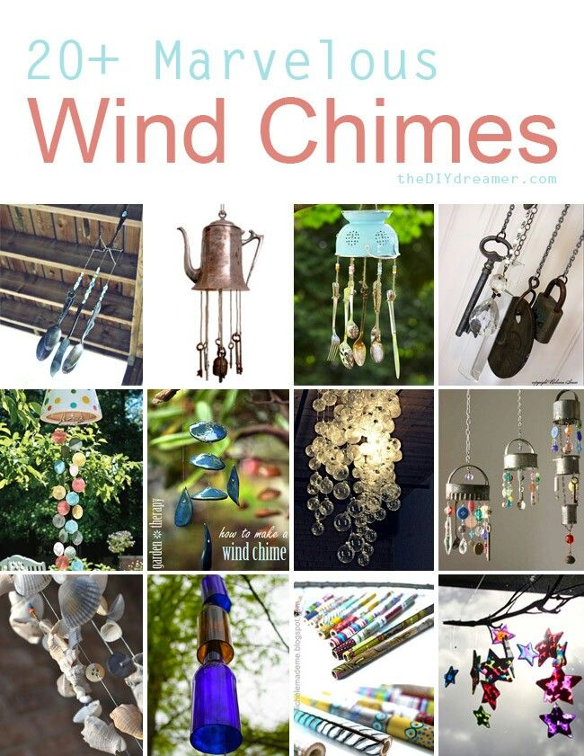 Diy wind chimes Loooove the teapot!!